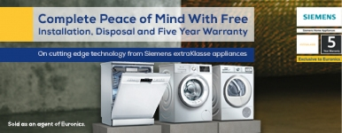 Siemens extraKlasse Free Installation & Disposal Promotion (15th May 2019 to 30th June 2019)